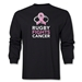 Rugby Fights Cancer Men's LS T-Shirt (Black)