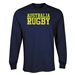 Australia Supporter LS Rugby T-Shirt (Navy)