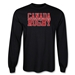 Canada Supporter LS Rugby T-Shirt (Black)