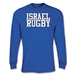 Israel Supporter LS Rugby T-Shirt (Royal)