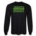 Jamaica Supporter LS Rugby T-Shirt (Black)