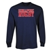 Singapore Rugby Supporter LS T-Shirt (Navy)