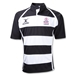 Rugby Fights Cancer Gilbert Xact Hoops Rugby Jersey (Black/White)