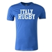 Italy Supporter Rugby T-Shirt (Royal)
