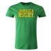 Jamaica Supporter Rugby T-Shirt (Green)