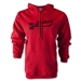 The Blackness Alternative Rugby Commentary Hoody (Red)