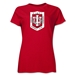 Indiana University Rugby Women's T-Shirt (Red)