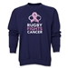 Rugby Fights Cancer Men's Crewneck Fleece Sweatshirt (Navy)