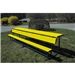 Goal Sporting Goods Bench w/ Shelf-Powder Coated (Yellow)