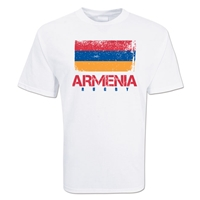Armenia Country Rugby Flag T-Shirt