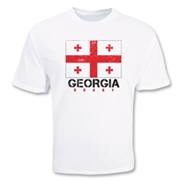 Georgia Country Rugby Flag T-Shirt