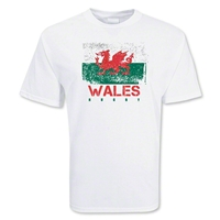 Wales Rugby Supporter T-Shirt (White)