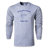 Jersey Shore Sharks Long Sleeve T-Shirt (Grey)