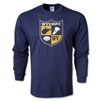 West Virginia University Rugby Long Sleeve T-Shirt (Navy)