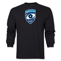 Montpellier Rugby Long Sleeve T-Shirt (Black)
