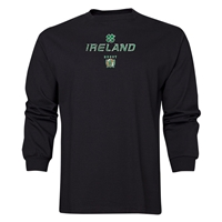 Rugby International Ireland LS T-Shirt (Black)