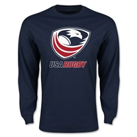 USA Rugby Long Sleeve T-Shirt (Navy)