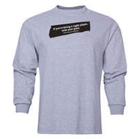 Date A Rugger Long Sleeve T-Shirt (Grey)