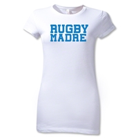 Rugby Madre Junior Women's Rugby T-Shirt (White)