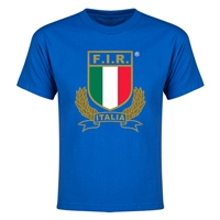 Italy Rugby Youth T-Shirt (Royal)