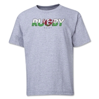 Wales Rugby Youth T-Shirt (Navy)