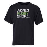 World Rugby Shop Youth T-Shirt (Black)