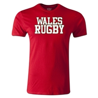 Wales Supporter Rugby T-Shirt (Red)