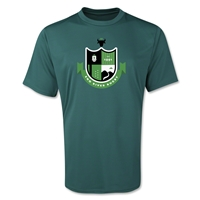 Eno River Women's Rugby Performance T-Shirts (Dark Green)