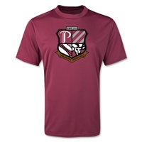 Philadelphia University Rugby Performance T-Shirts (Maroon)