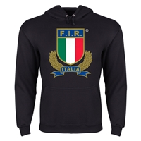 Italy Rugby Hoody (Black)