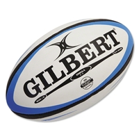 Gilbert Omega Match Rugby Ball (Blue/Black)