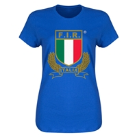 Italy Rugby Women's T-Shirt (Royal)