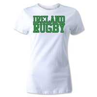 Ireland Women's Supporter Rugby T-Shirt (White)