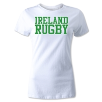 Ireland Supporter Women's Rugby T-Shirt (White)