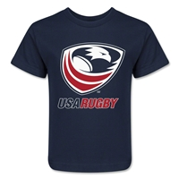 USA Rugby Kids T-Shirt (Navy)