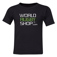 World Rugby Shop Juvenile T-Shirt (Black)