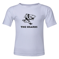 Sharks Rugby Toddler T-Shirt (White)