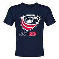 USA Wheelchair Rugby Toddler T-Shirt (Navy)