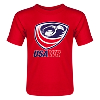 USA Wheelchair Rugby Toddler T-Shirt (Red)