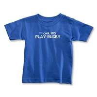 Cool Kids Play Rugby Toddler T-Shirt (Royal)