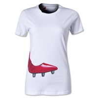 Bakline High Boot Women's Rugby T-Shirt (White)