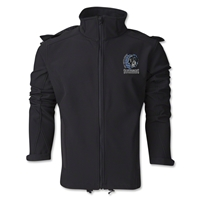 Silverbacks Rugby Softshell All Weather Jacket (Black)