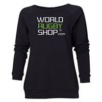 World Rugby Shop Women's Crewneck Fleece (Black)