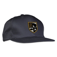 University of Wisconsin Milwaukee Rugby Flatbill Cap (Black)