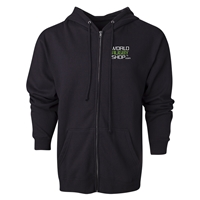 World Rugby Shop Fill-Zip Hooded Fleece (Black)