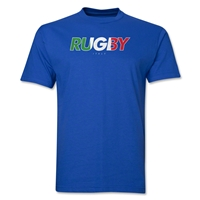 Italy Rugby T-Shirt (Royal)