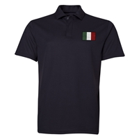 Italy Rugby Polo (Black)