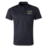 World Rugby Shop Poly Polo (Black)