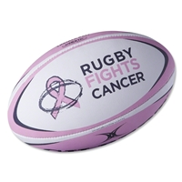 Rugby Fights Cancer Gilbert Zenon V2 Rugby Ball