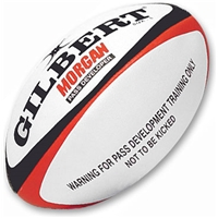 Gilbert Morgan Pass Development Weighted Rugby Ball